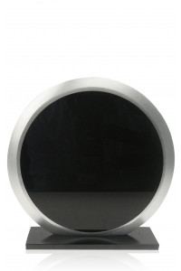 A Panel Circle With Acrylic