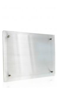 Metal Plaque Silver