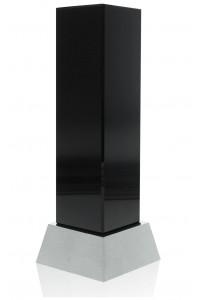 Black Crystal on Aluminum