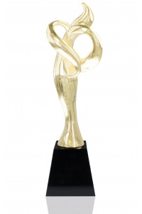 Event Figure Gold Plated Resin