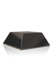 Black Trapezoid Marble Base