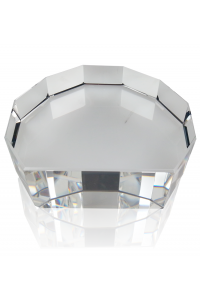 Clear Multi Beveled Base