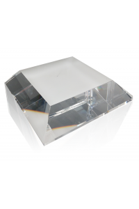 Clear Square Angled Base