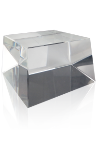 Clear Square Slant Base