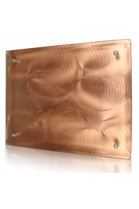 Bronze Swirl Plaque