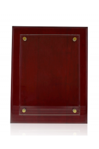 Rosewood Piano Finish Wall Plaque