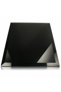 Black Glass Plaque