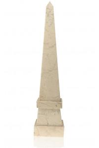 Stepped Obelisk Boticino Marble