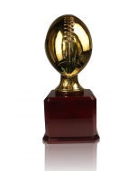 Gold Plated Resin Football