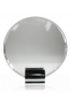 Silver Grabs Crystal Circle