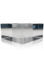 Clear Beveled Square Base