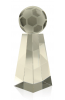 Crystal Soccer Ball Tower