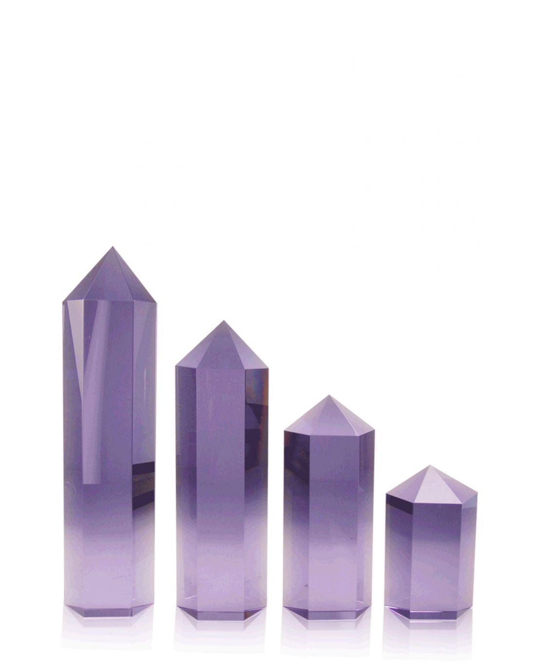 Hexagon Columns Purple