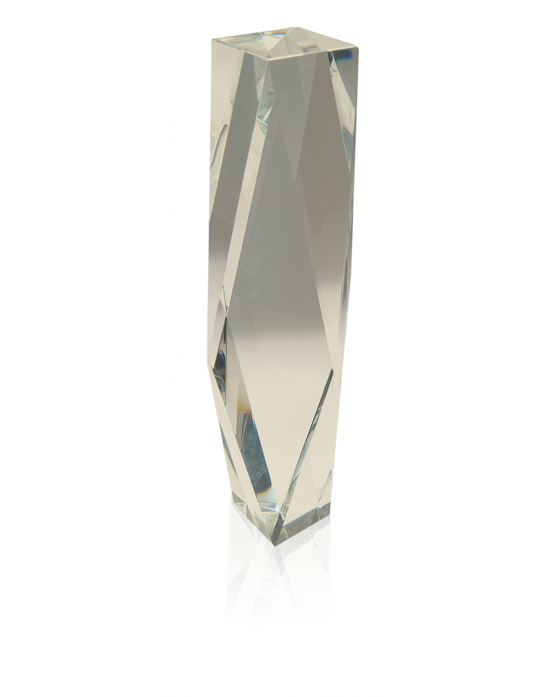 Crystal Faceted Tower