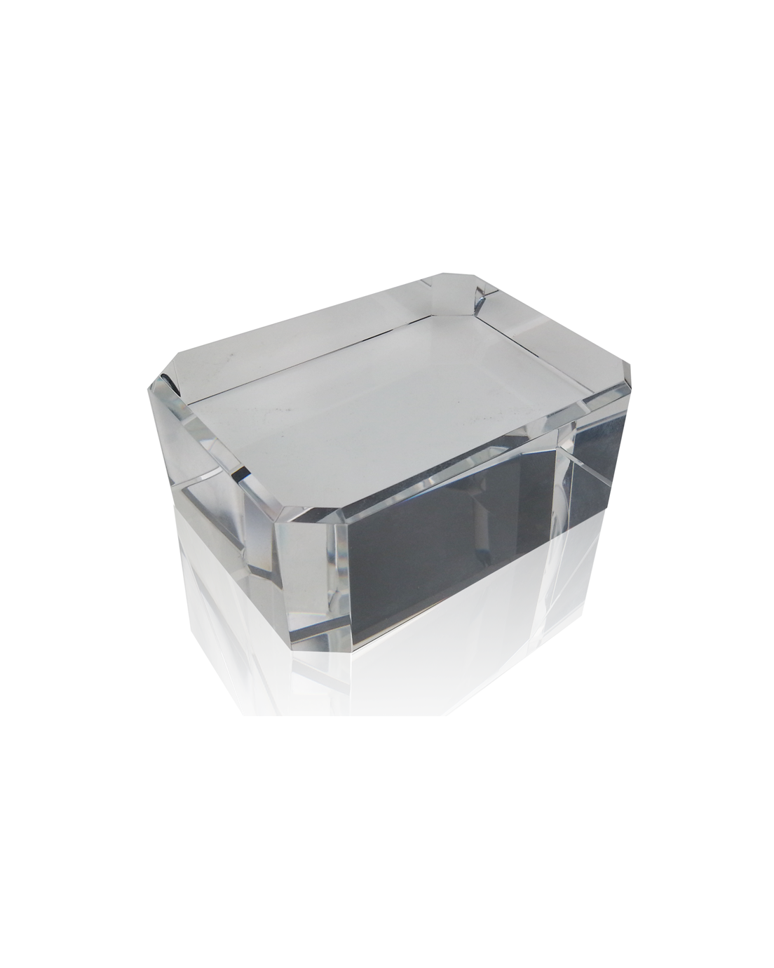 Clear Rectangle Base