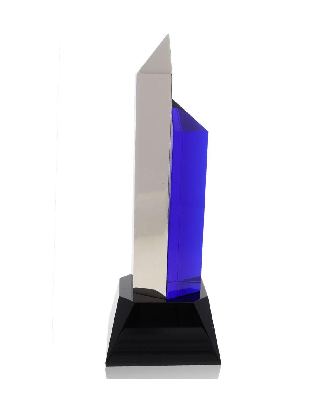 Hexagon Silver Blue