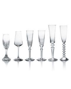 Bubble Box, Set of 6 Champagne Glasses