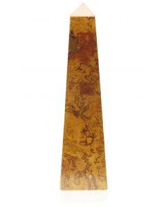 Straight Obelisk Amber Onyx