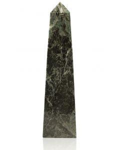 Straight Obelisk Jade Leaf Green Marble