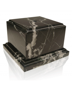 Black Zebra Marble Base