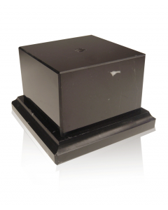 Stepped Foot Black Marble Base