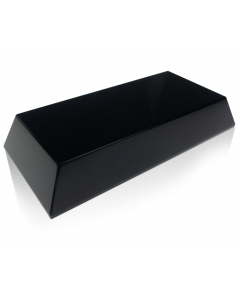Black Slant Rectangle Base
