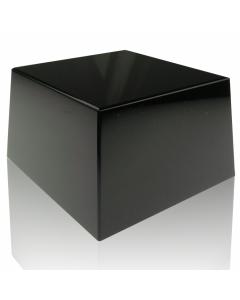 Black Square Slant Base