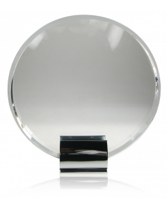 Silver Grabs Crystal Circle