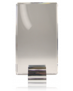 Silver Grabs Crystal Square