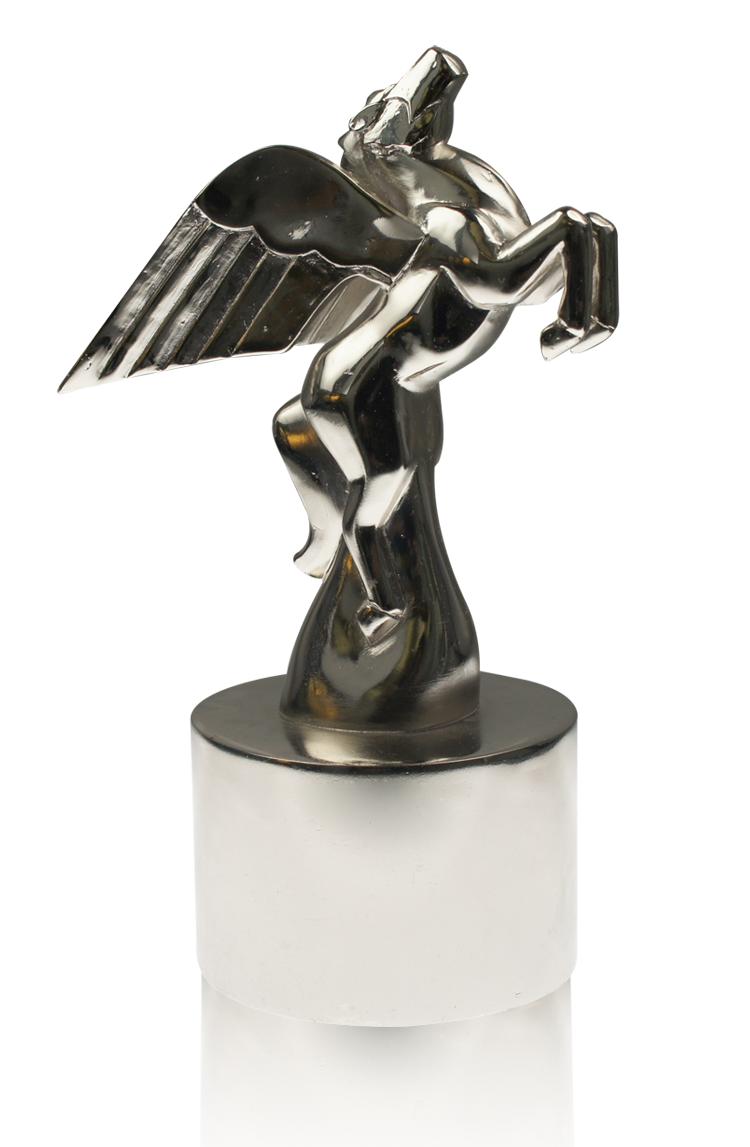 Deco Pegasus Silver