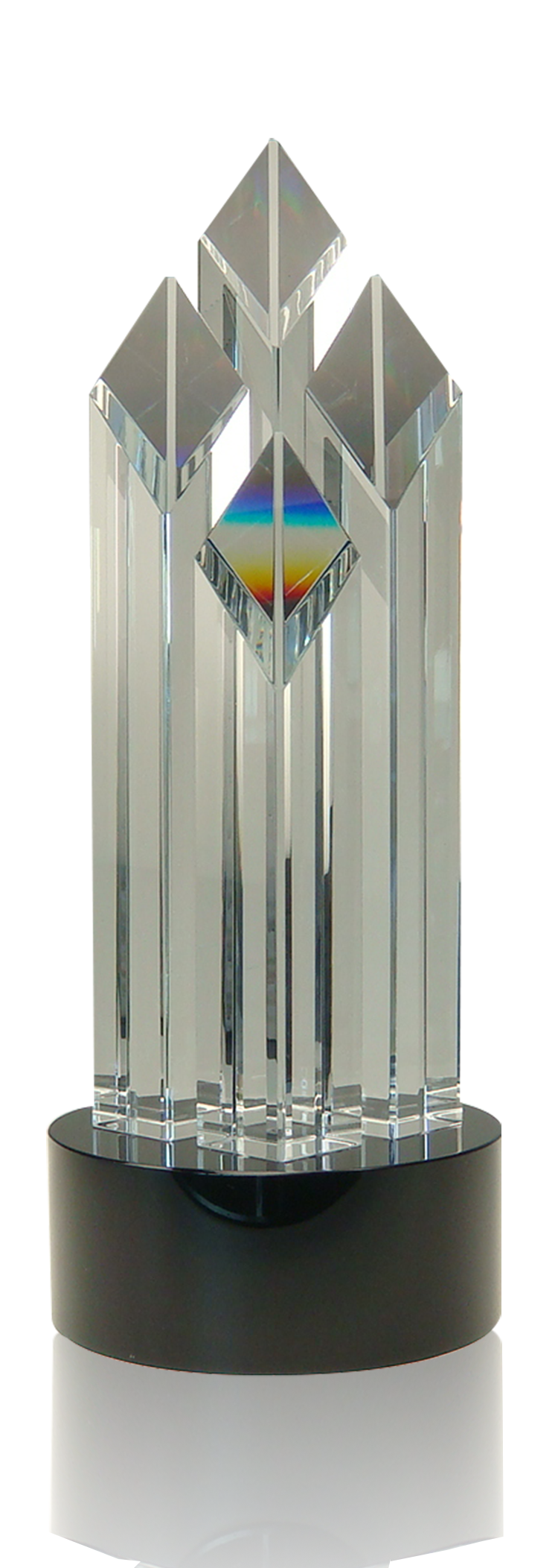 Diamond Crystal Tower, Black Base