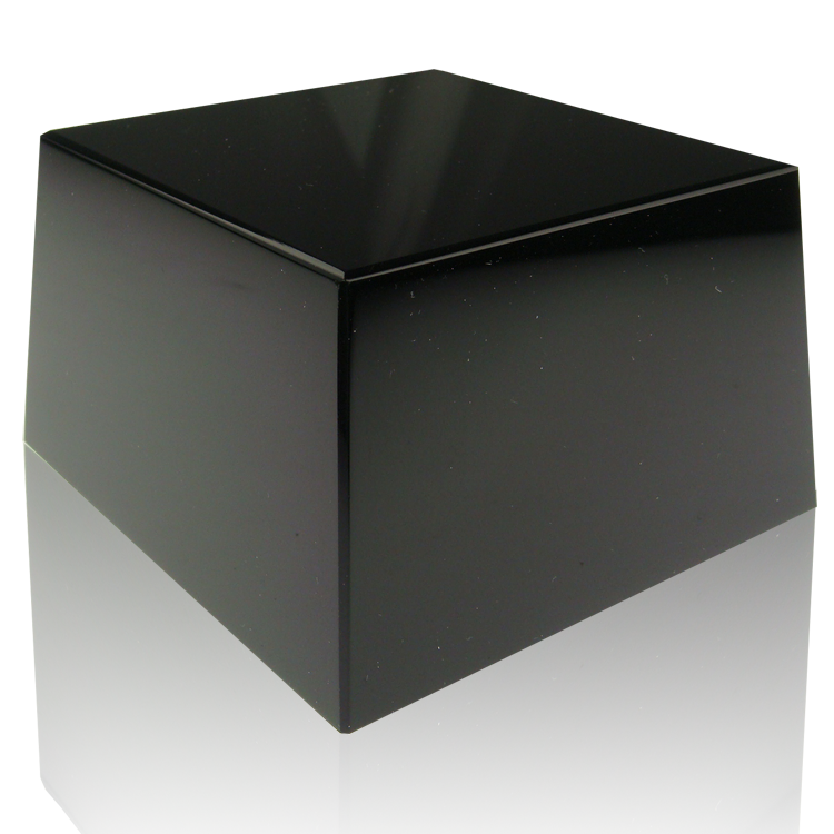 Black Square Slant Base
