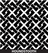 Customized Award Houndstooth Pattern