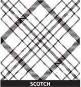 Customized Award Scotch Pattern
