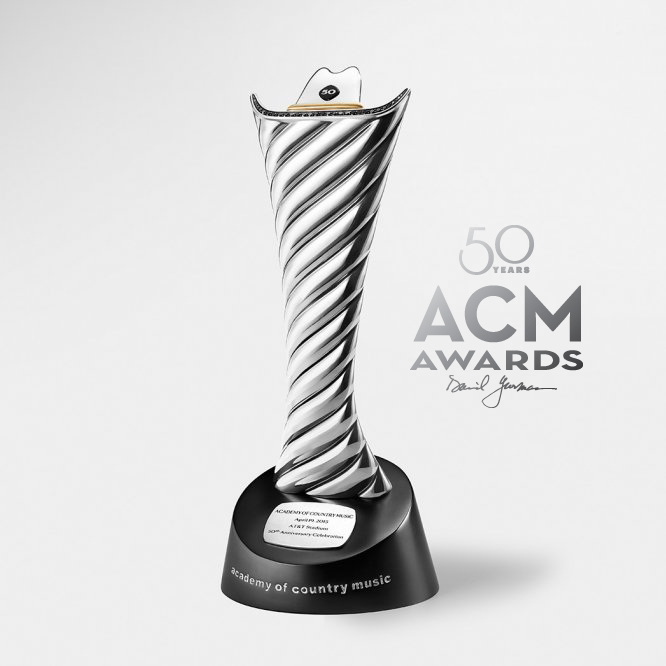 Academy of Country Music 50th Anniversary Milestone Award by David Yurman.