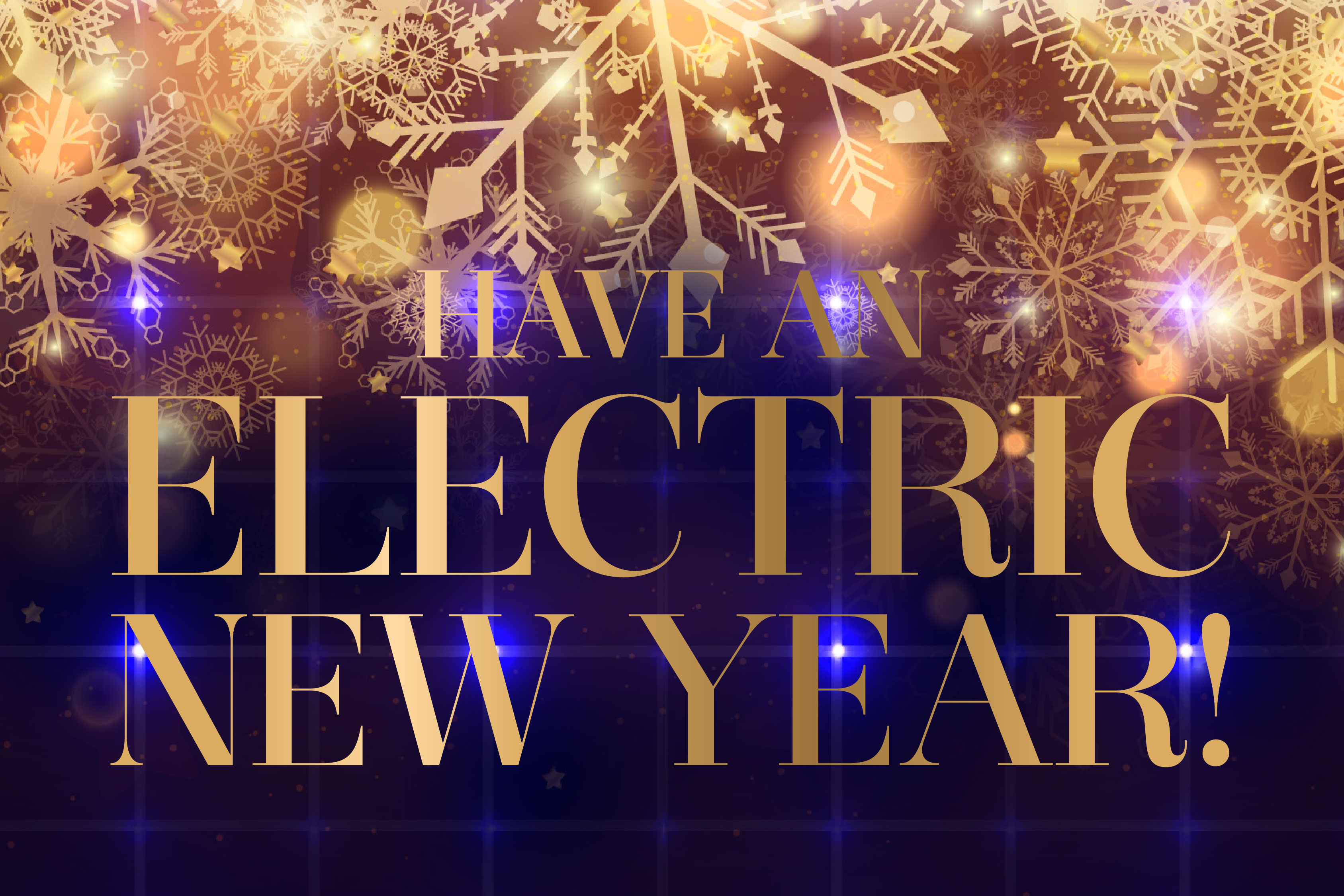 Have an Electric New Year