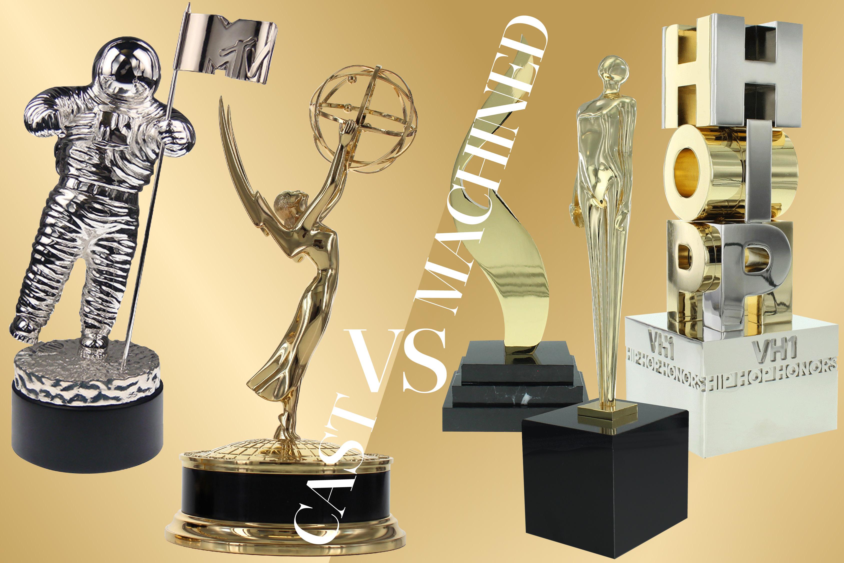 Custom awards cast vs machined | Enter a World of Luxury