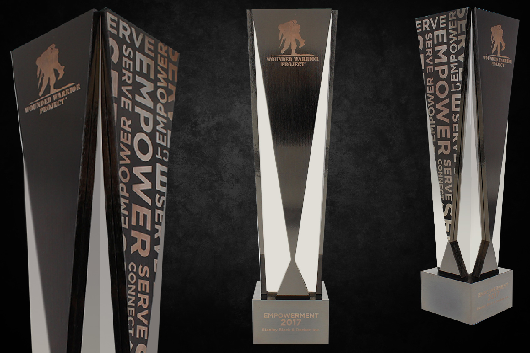 Wounded Warrior Project Empowerment Award trophy