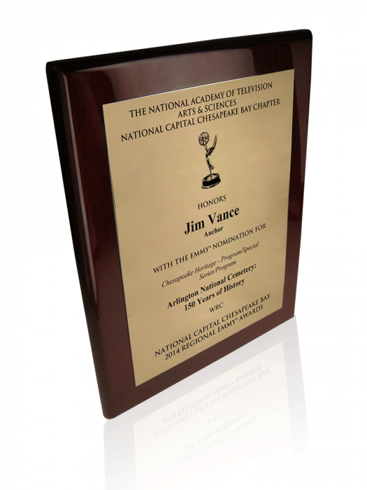 Nomination Plaque