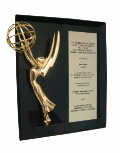 Production Plaque with Regional Emmy® Statuette