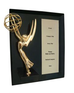 Production Plaque with Emmy® Statuette
