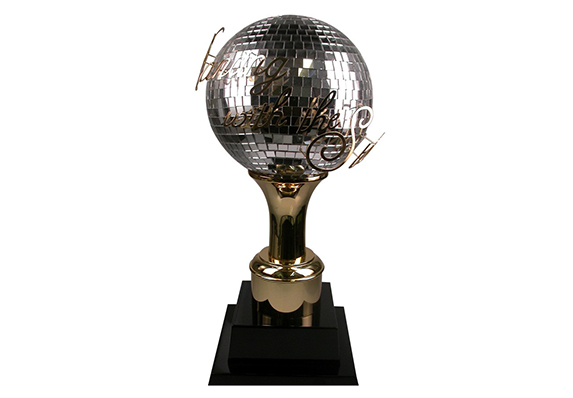 DWTS Dancing with the stars mirror ball trophy