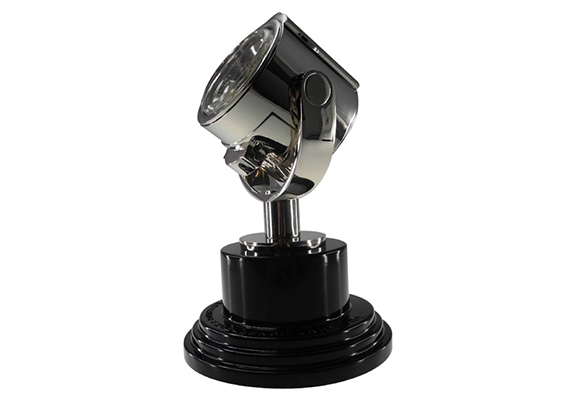 realistic searchlight Society Awards designed trophy