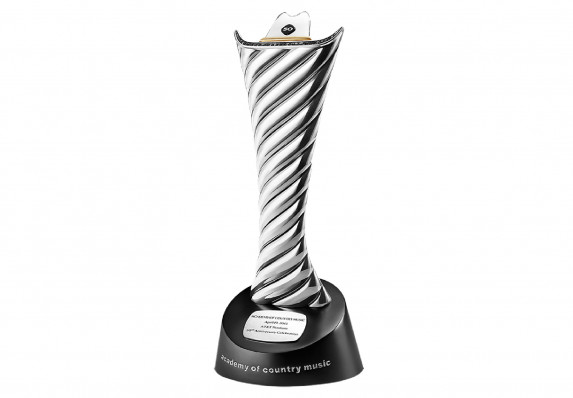 Ultra-Luxury Award Crafted by Acclaimed Designer David Yurman using Sterling Silver, Black Diamonds and 18k Gold