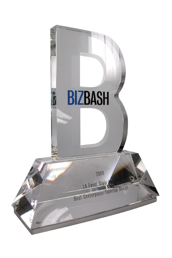 custom logo corporate award for events