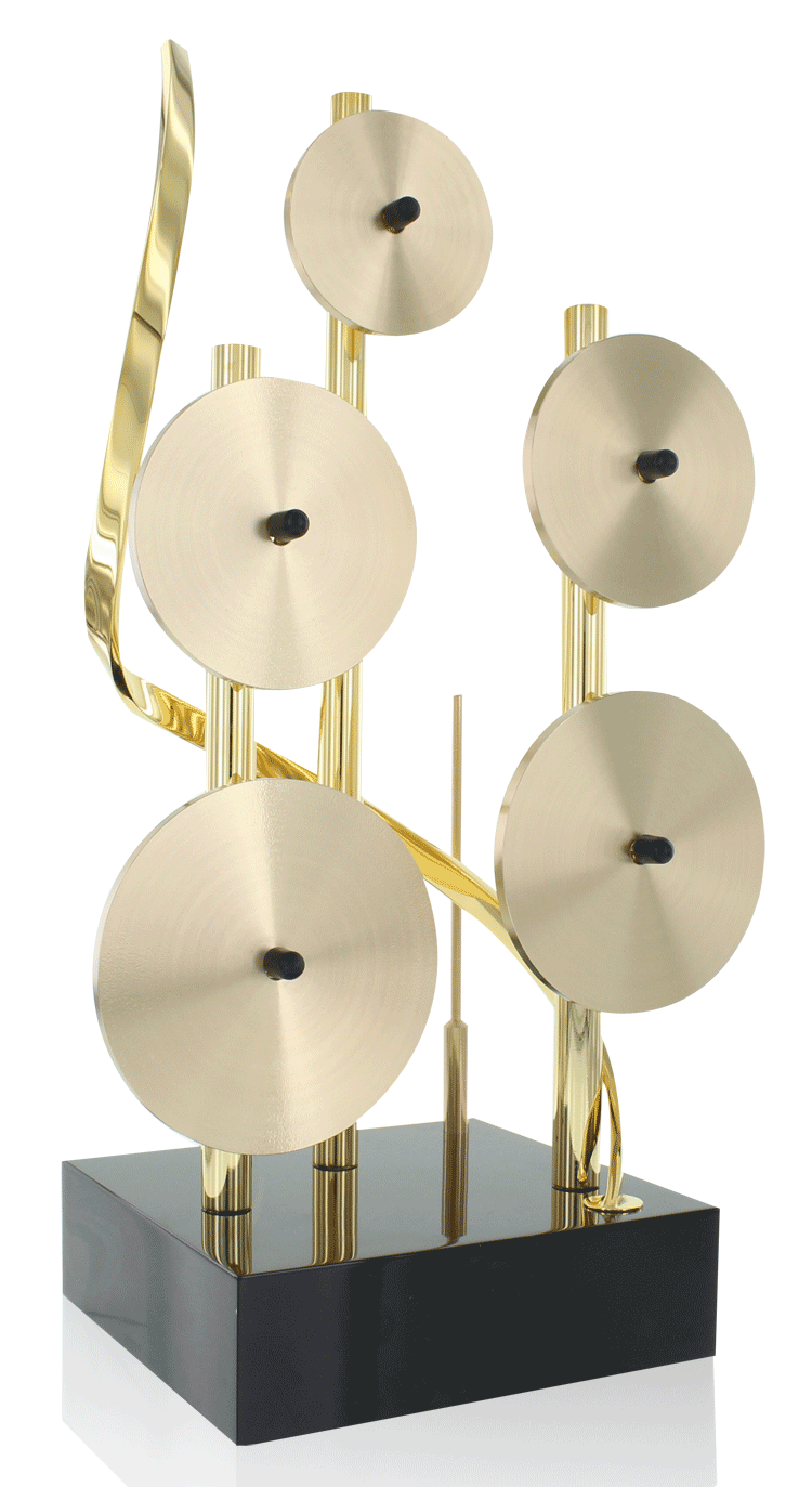 The SOCAN is both a prestigious trophy and an instrument than can be played by laying the piece on its side and using the included playing tool.