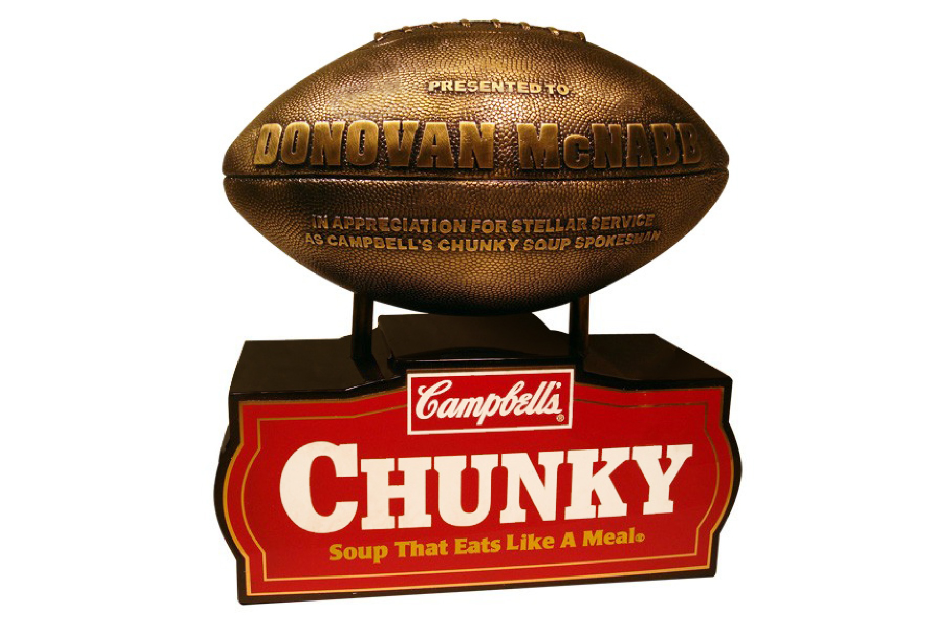 Campbells Chunky Soup Football Trophy