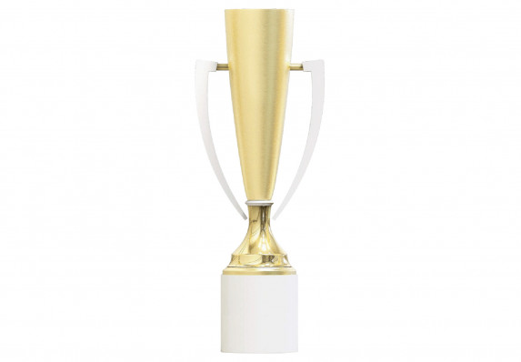 Custom gold trophy cup