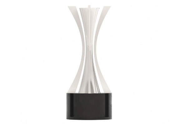 Custom Silver Trophy with Tapered Design