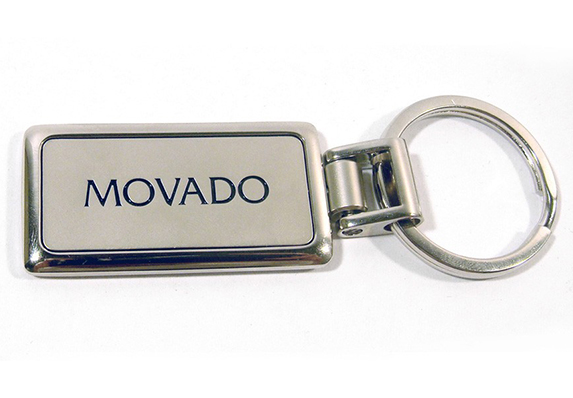 promotional product branded logo keychain